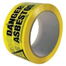 Danger Asbestos printed tape