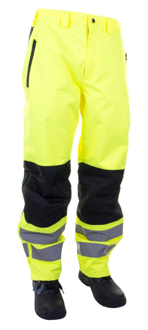 two tone hi vis trousers