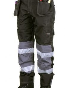 BANBURY WEATHERPROOF TROUSERS BLACK - FRONT VIEW