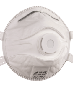FFP3 mask to protect against inhaling asbestos particles
