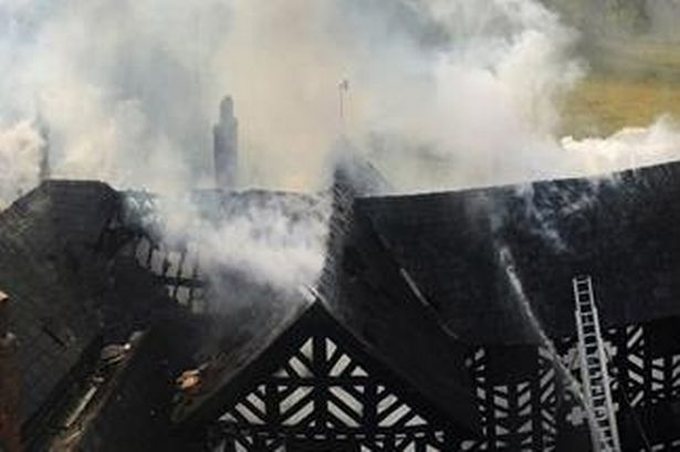 Fire safety breaches by Cheshire wedding venue owner - fire rips through Haslington Hall in Cheshire