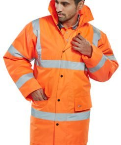hi vis traffic jacket - orange